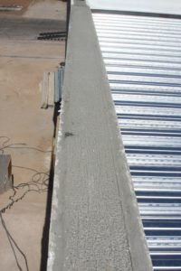 Concrete Barrier Finished Edge