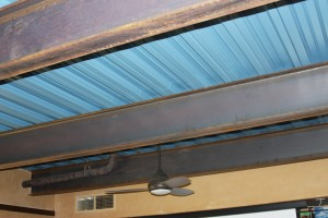 Living Roof Metal Ceiling
