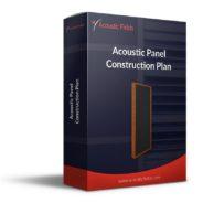 Mockup of a Acoustic Panel Foam DIY Plan