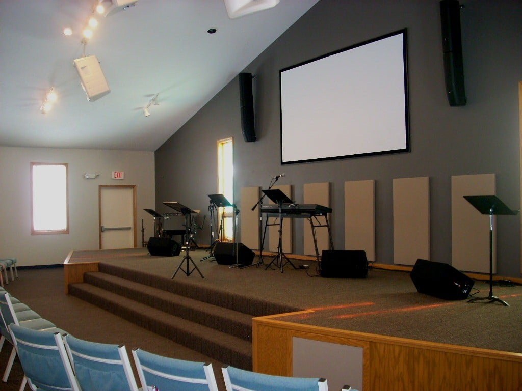 Classroom Acoustic Design ~ Church classroom acoustical design acoustic fields