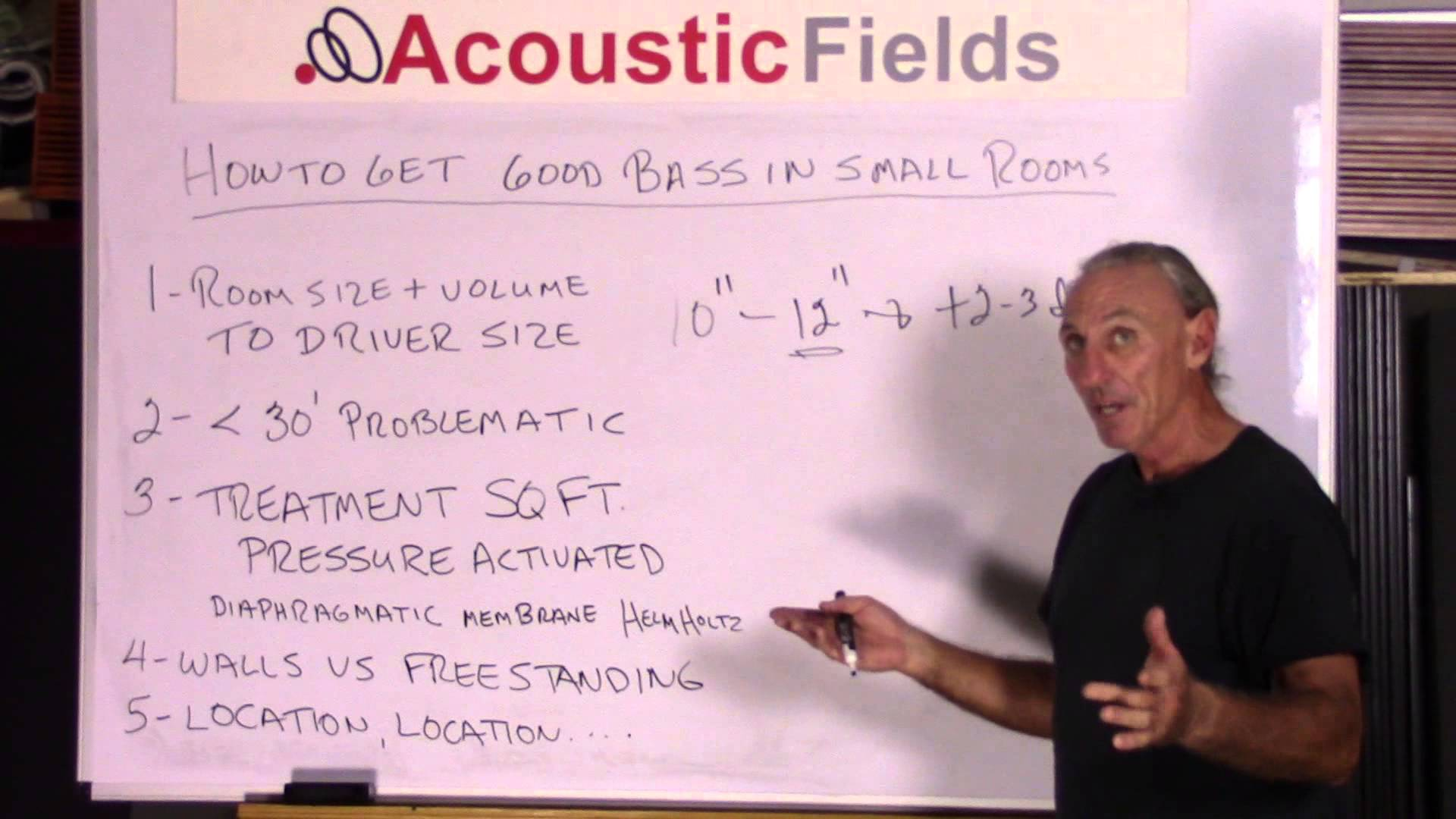 how to get good bass in small rooms acoustic fields how to get good bass in small rooms