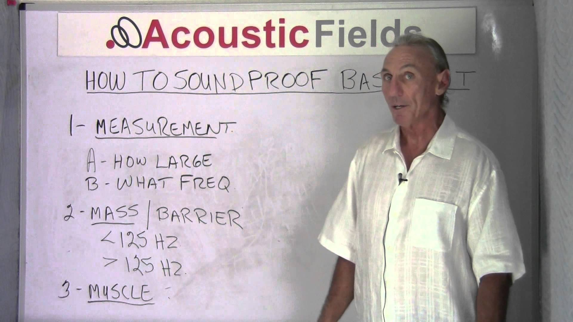 if you want to know how to soundproof a basement you need to