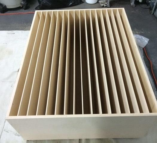 perfect diy wood acoustic diffuser album