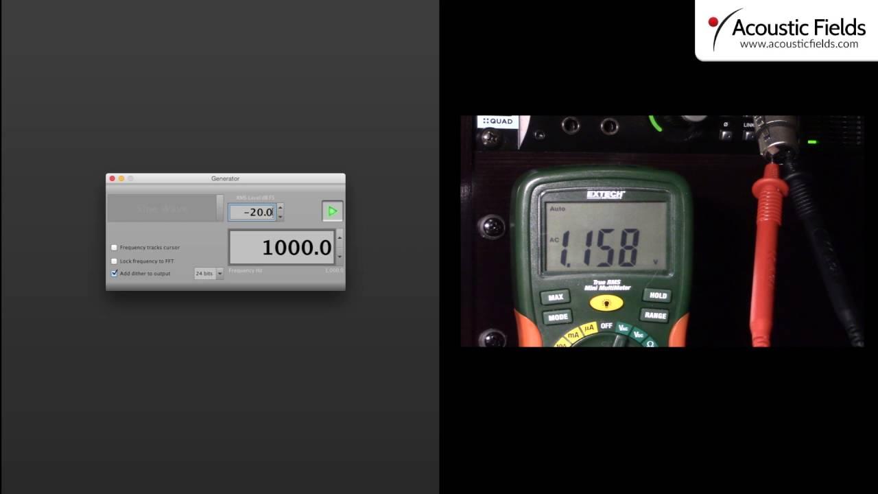 VU Metering and Calibration pt. 2