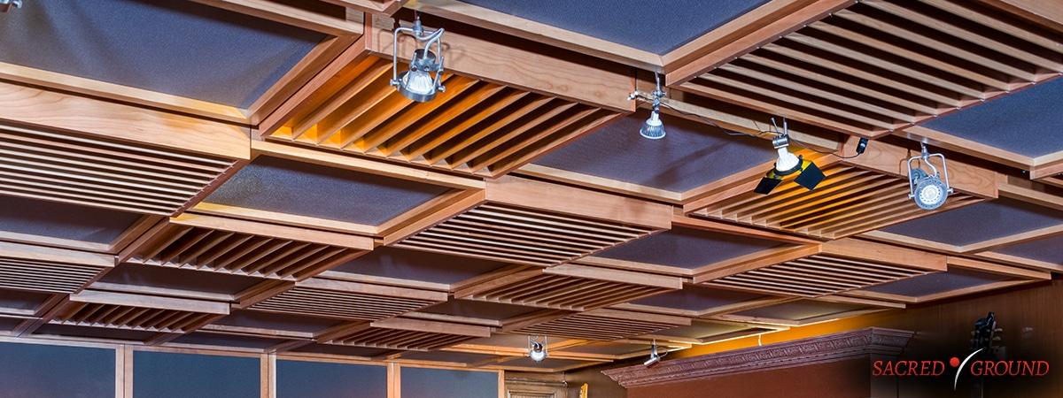 Sacred Ground Studios LA Ceiling Tiles