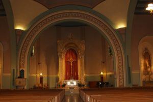 Front Altar Space