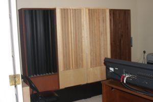 QDA-13 On Studio Rear Wall