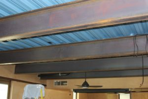 Structural Steel Ceiling Support