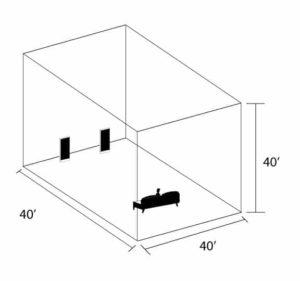 30 Hz. Friendly Room Size