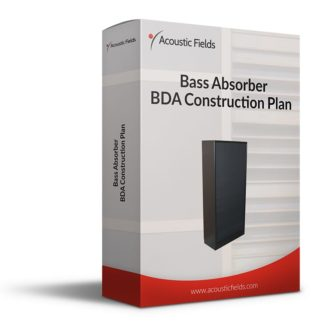 Mockup of a DIY Bass Trap Bass Absorber Plan
