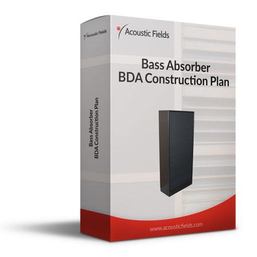Mockup of a DIY Bass Trap Bass Absorber Plan