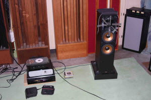 right channel speaker