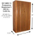 DIY QRD 13 Kit measurements