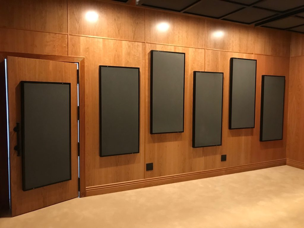 Acoustic Fields Foam Panel Technology in Studio