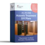 All in One Acoustic Treatment Build Plans Bundle