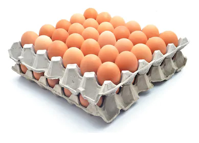 Egg cartons are not diffusers