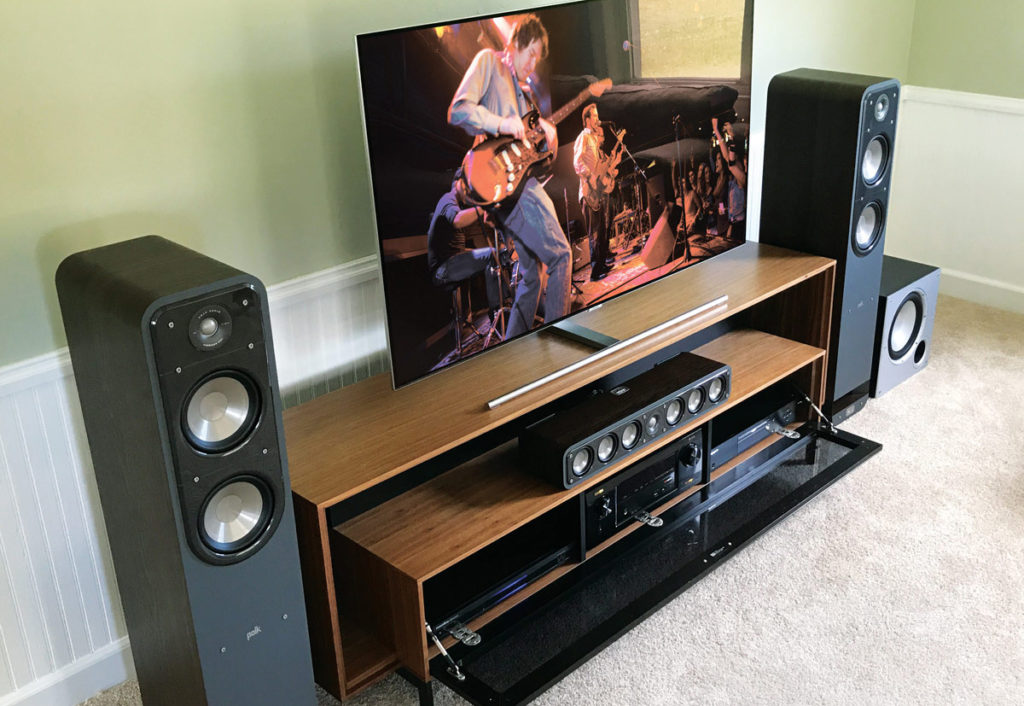 Home Theater speakers comb filtering