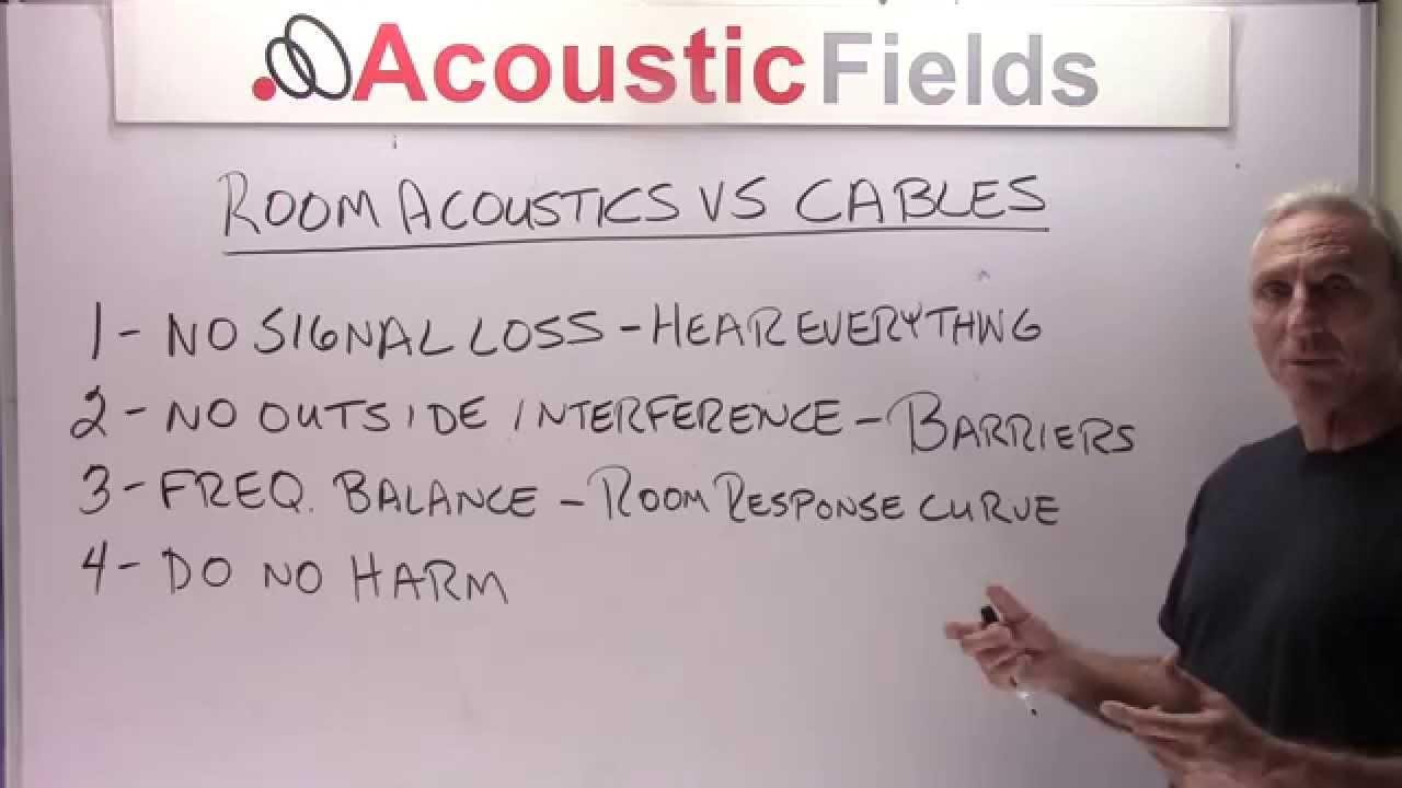 Room Acoustics Vs Cables