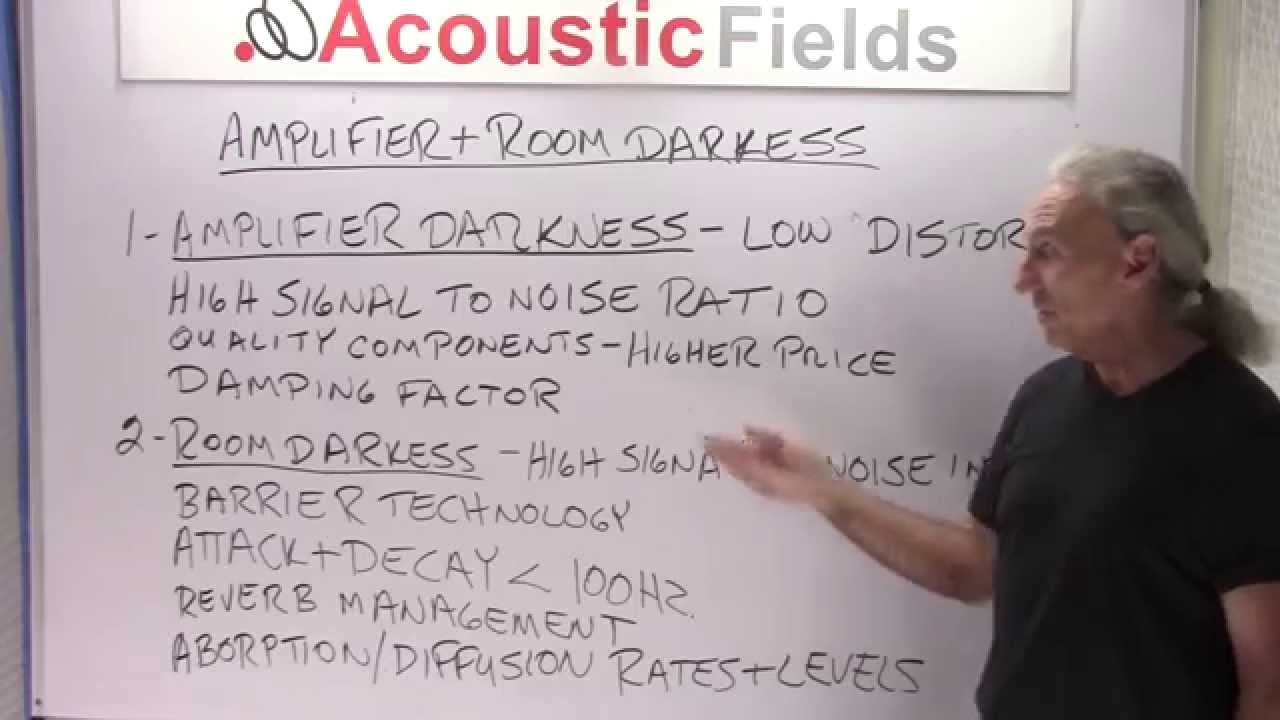 Amplifier & Room Darkness
