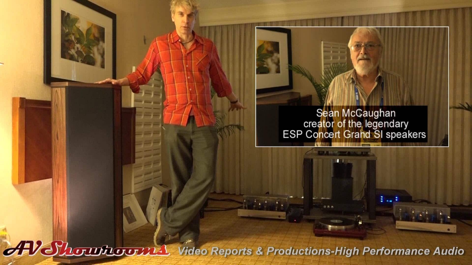 Audio Skies, ESP Loudspeakers, Pear Audio Blue, Michael Vamos – YouTube