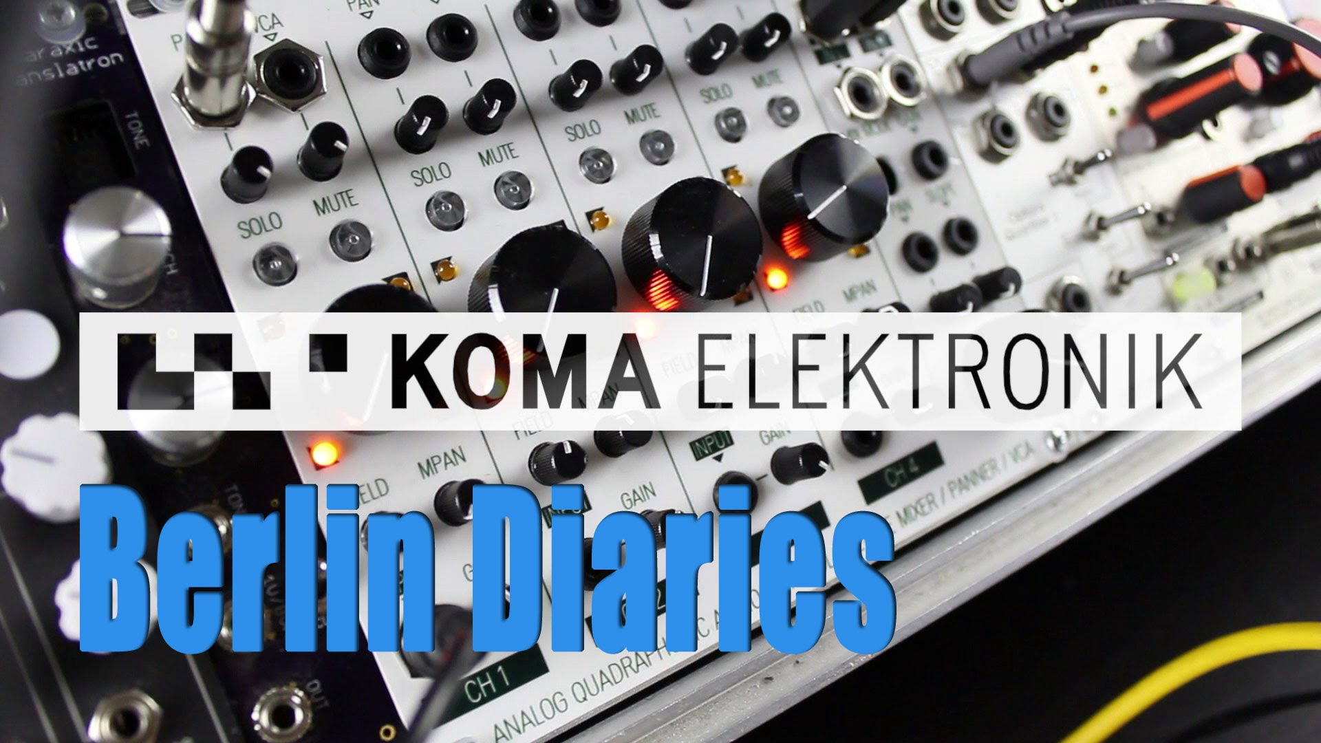 Berlin Diaries: Koma Elektronik – YouTube
