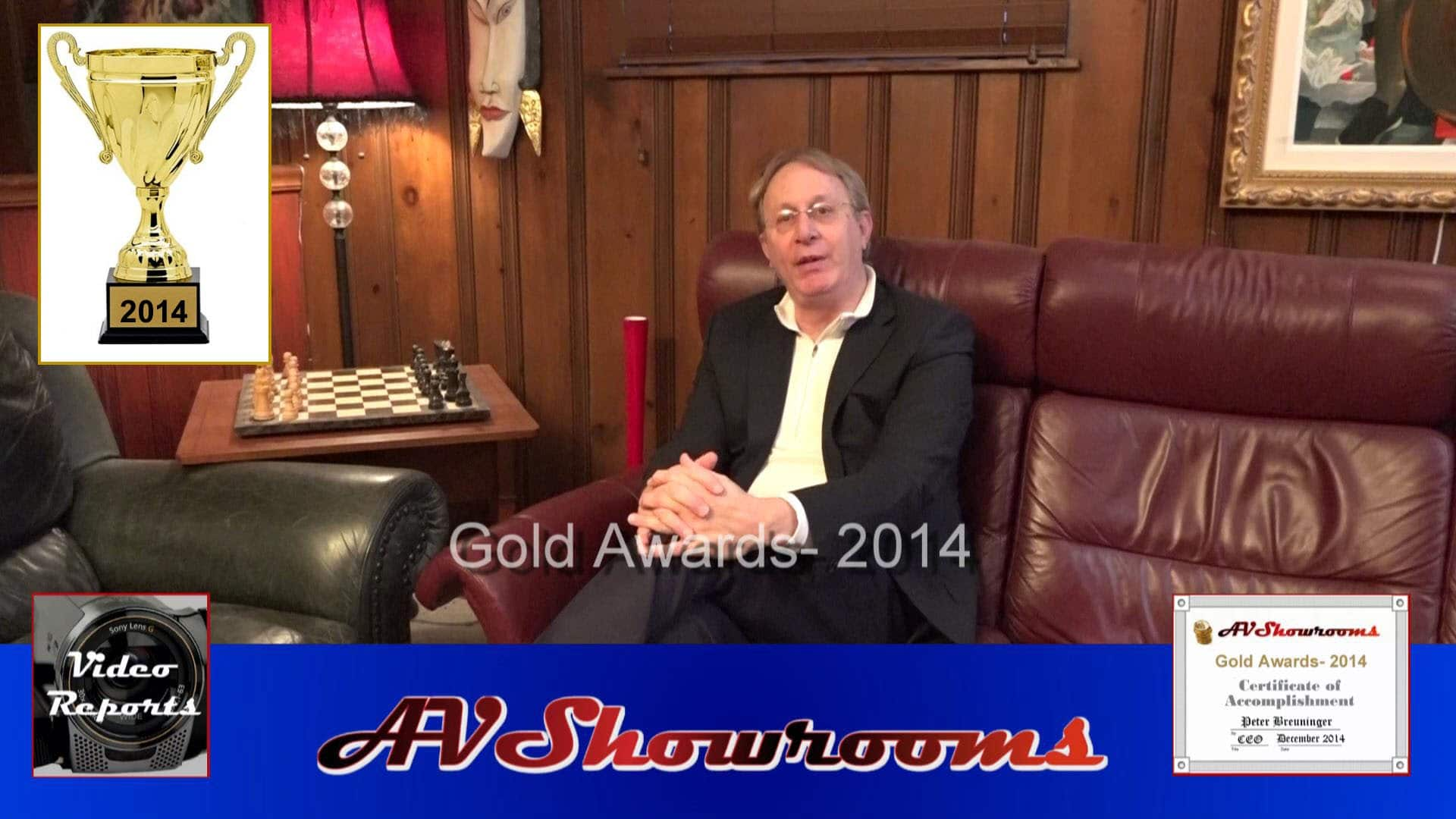Best of 2014, AVShowrooms Gold Awards, Audiophile of the Year – YouTube