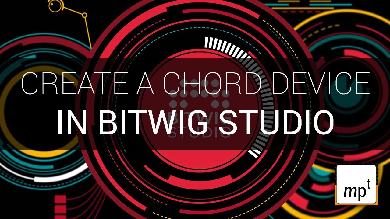 Bitwig Studio – Creating A Chord Device using a Container – YouTube