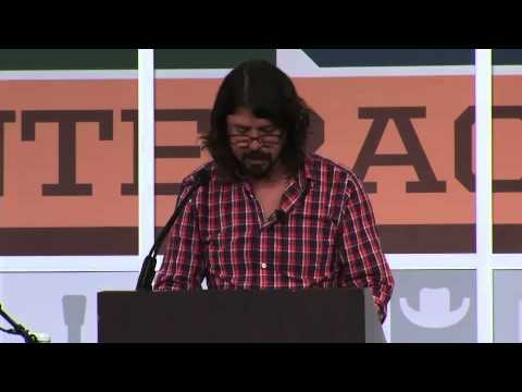 Dave Grohl South By Southwest (SXSW) 2013 Keynote Speech in Full – YouTube