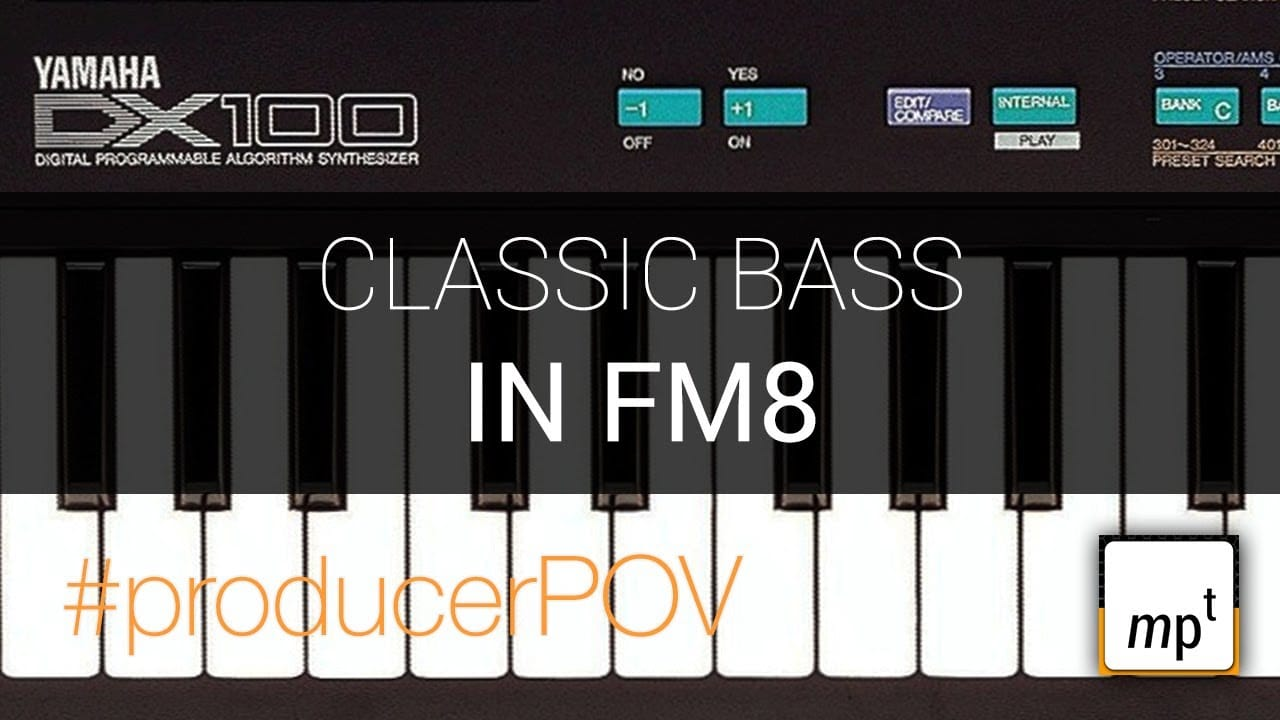 FM8 – Grab that classic Solid Bass Preset from the 80s and 90s – #producerPOV – YouTube