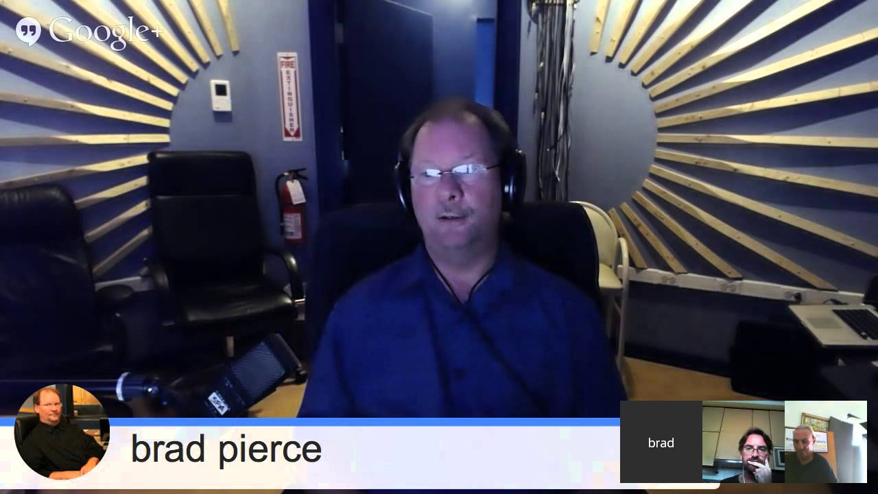 Google Hangout With Brad Pierce Of StarFleet Audio