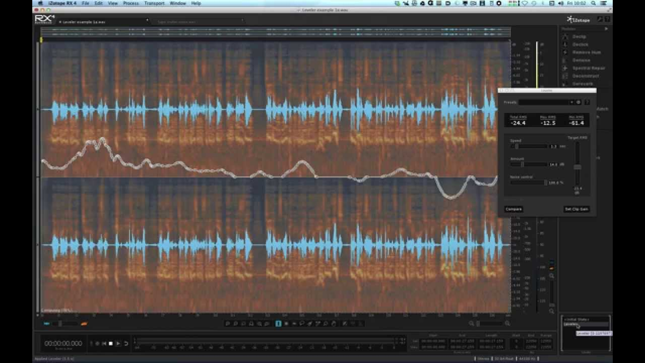 iZotope RX4 & RX4 Advanced Show & Tell Review – YouTube