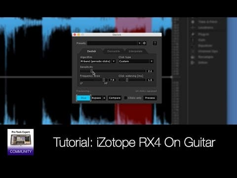 iZotope RX4 Tutorial: How To Soften Pick Noise On Acoustic Guitar Using RX4 – YouTube