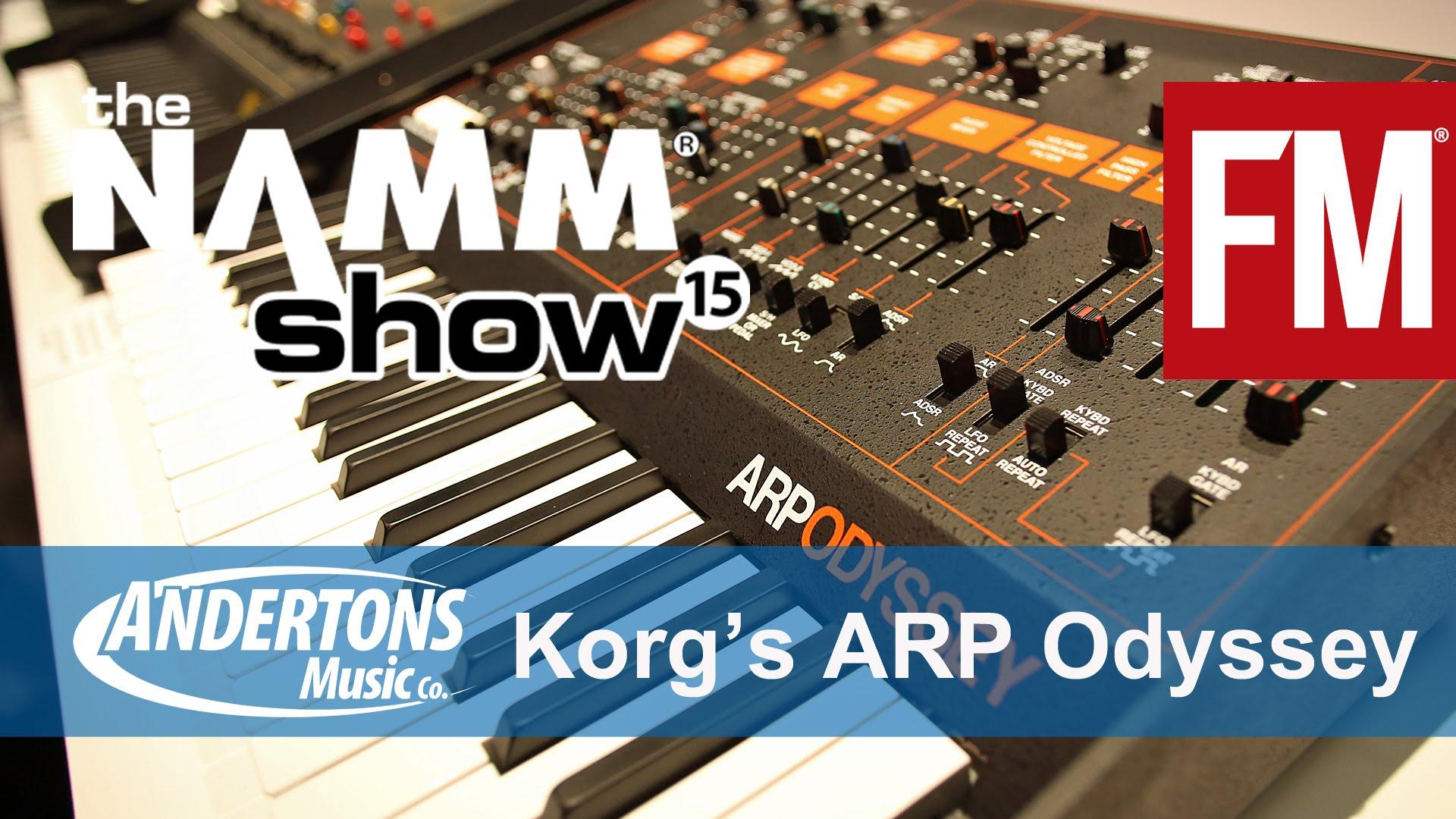 NAMM 2015 - Korg's ARP Odyssey - YouTube – Acoustic Fields