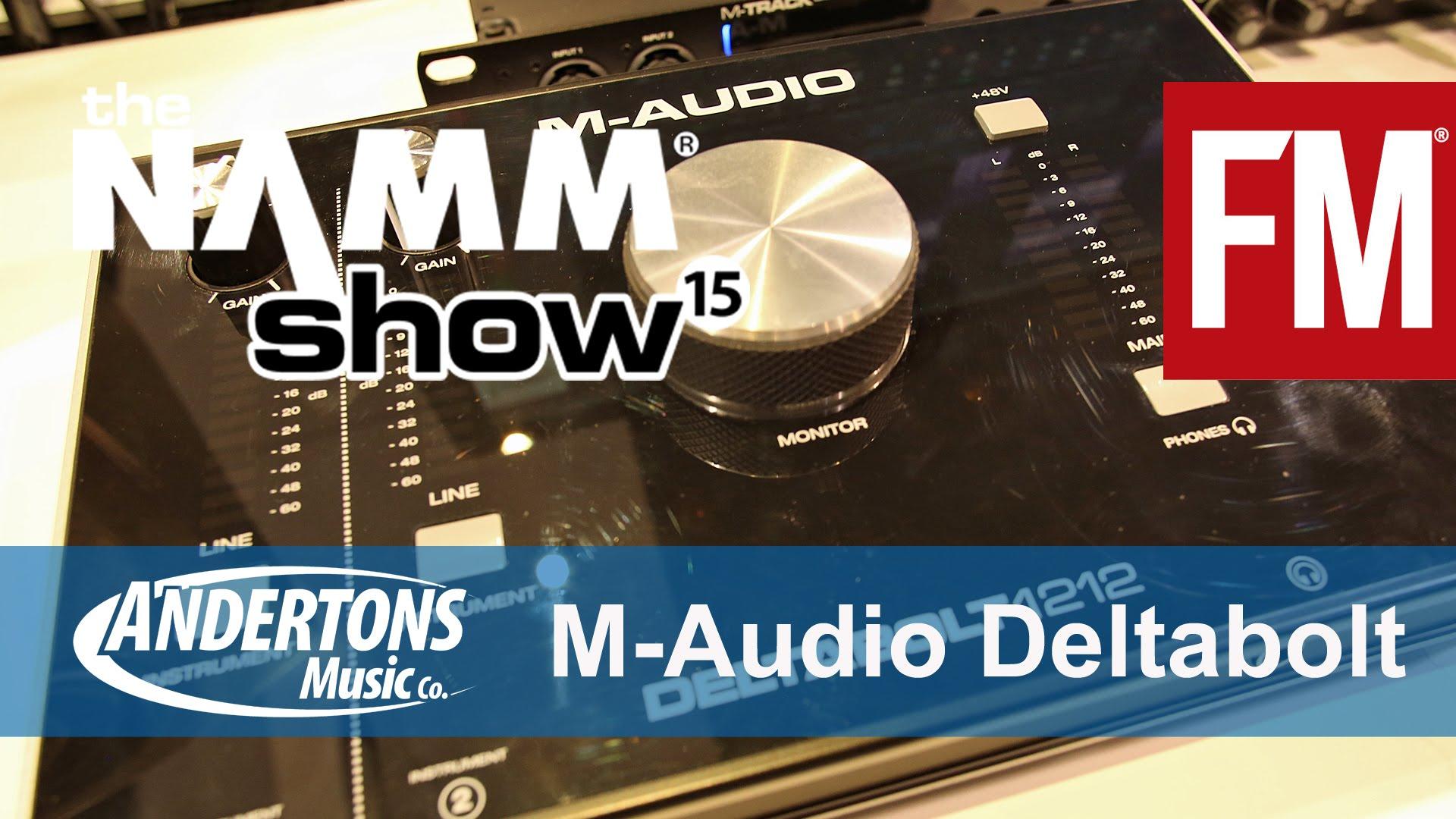 NAMM 2015 – M-Audio Deltabolt 1212 – YouTube