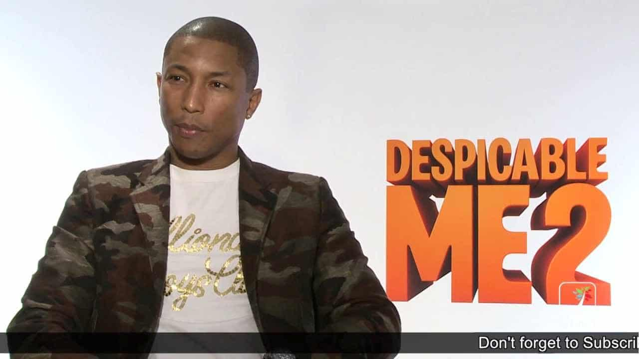 Pharrell discusses making the music for Despicable Me 2 – YouTube