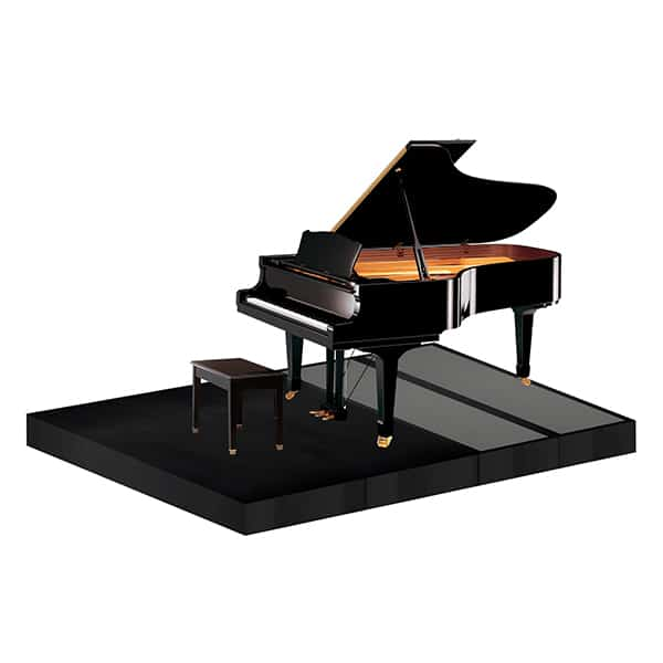 Sound Absorber platform for pianos