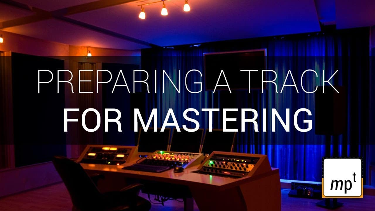 Preparing a track for someone to master – YouTube