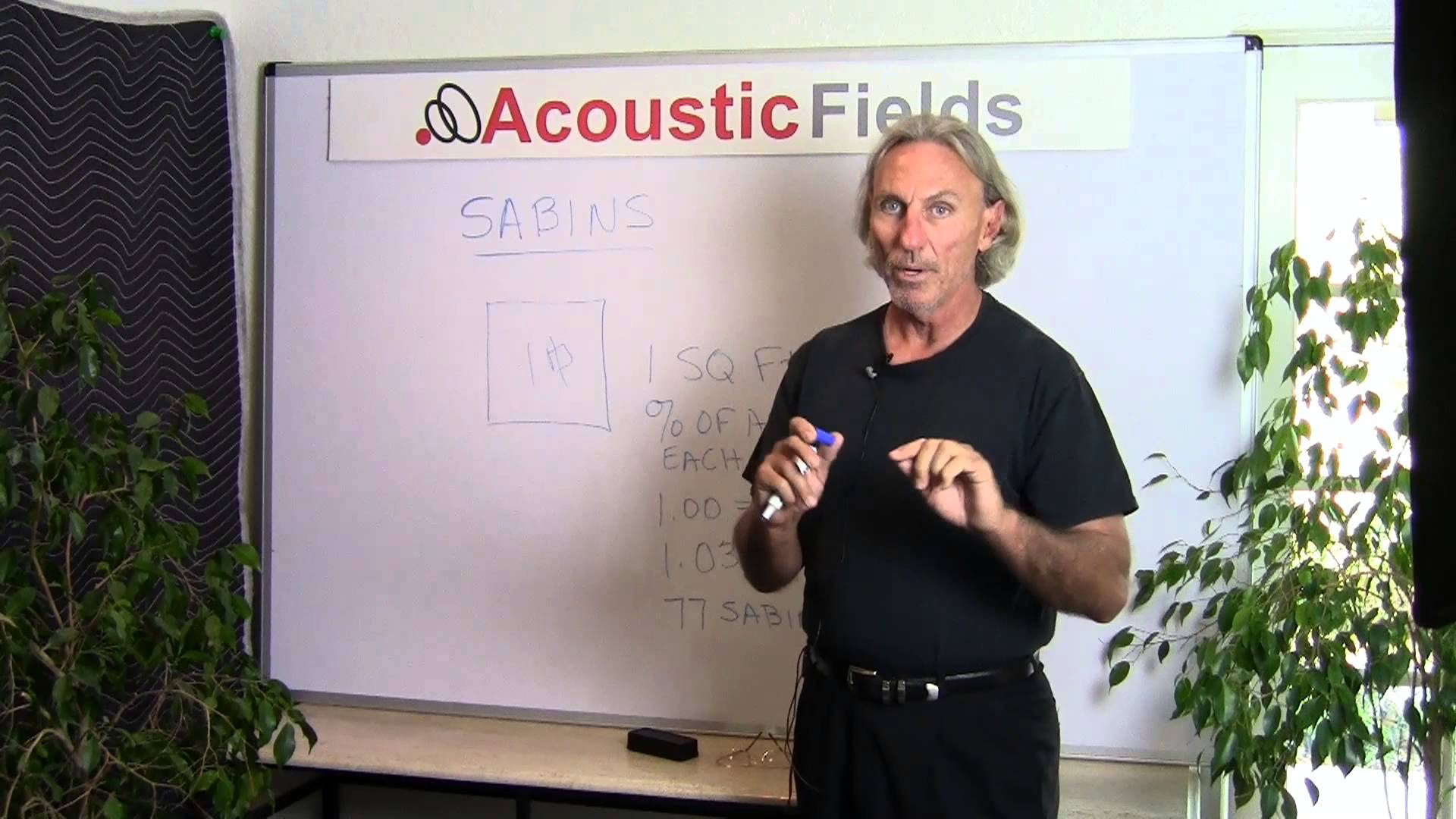 Sabins And Sound Absorption Coefficients