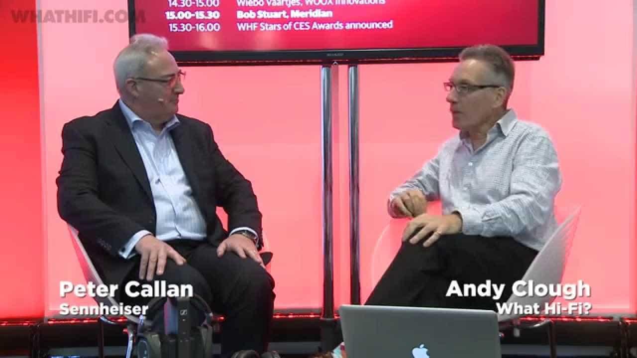 Sennheiser interview: Peter Callan, President CE – CES 2015 – YouTube