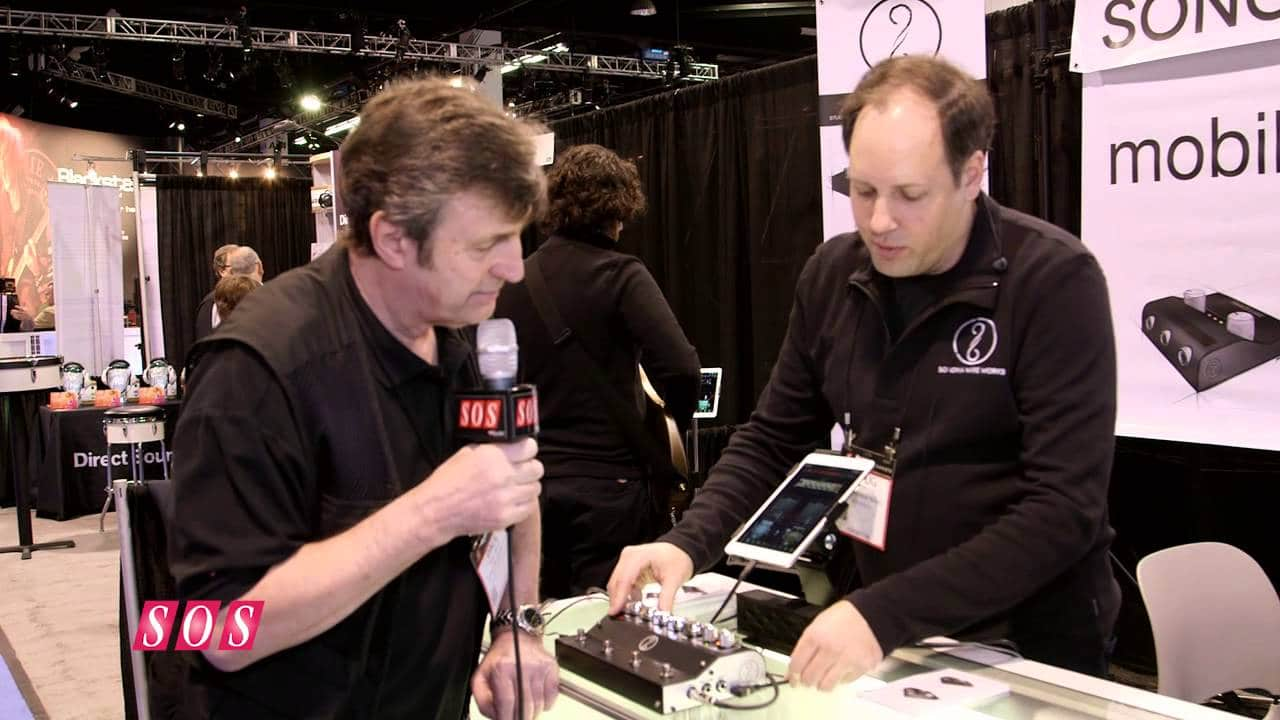Sonoma Wire Works – GuitarJack Stage NAMM 2015 – YouTube