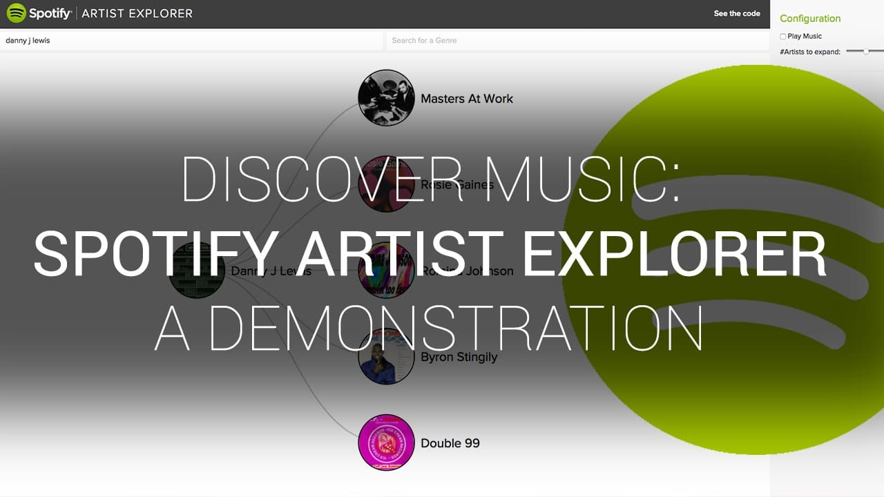 Spotify Artist Explorer – an amazing way to discover music – YouTube