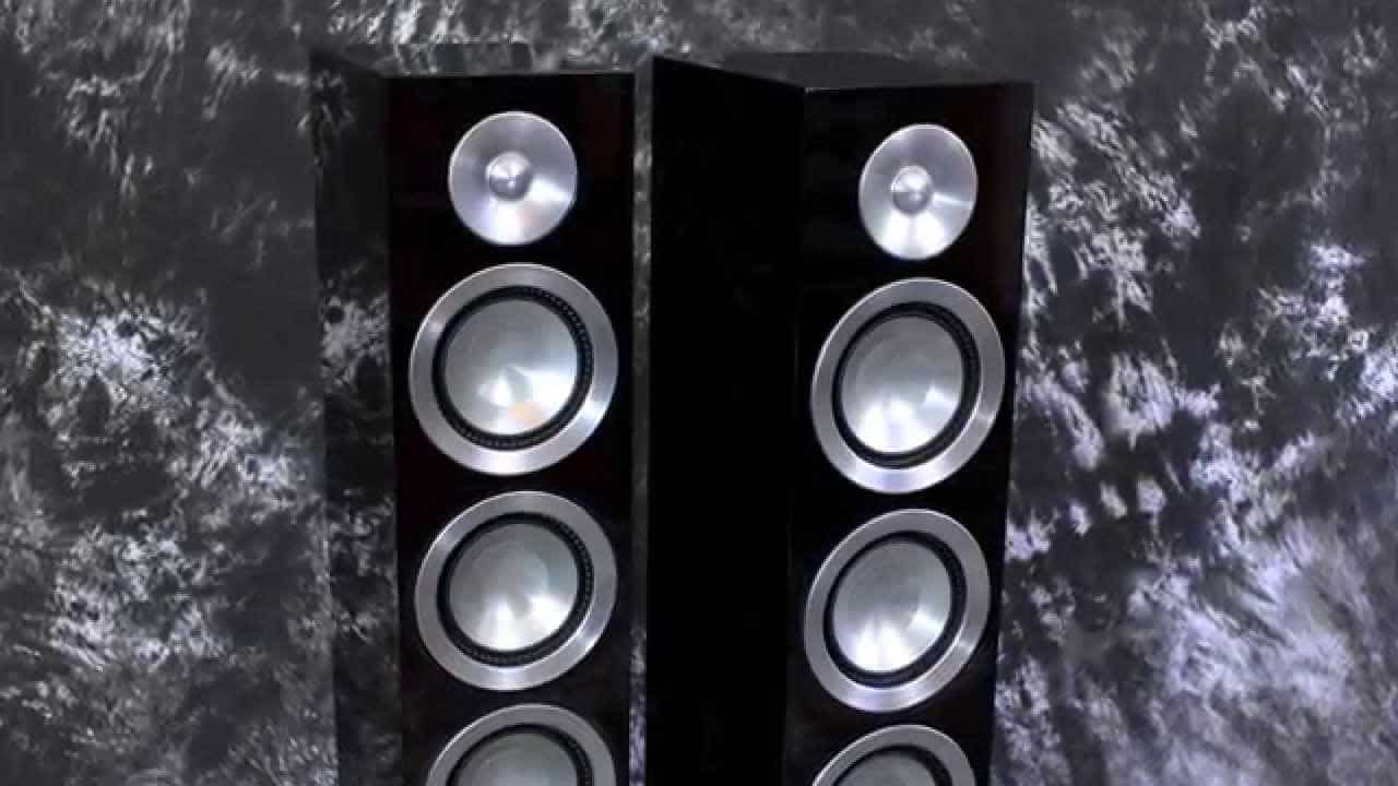 Stereo Design Paradigm Prestige 75F Speakers 2015 – YouTube
