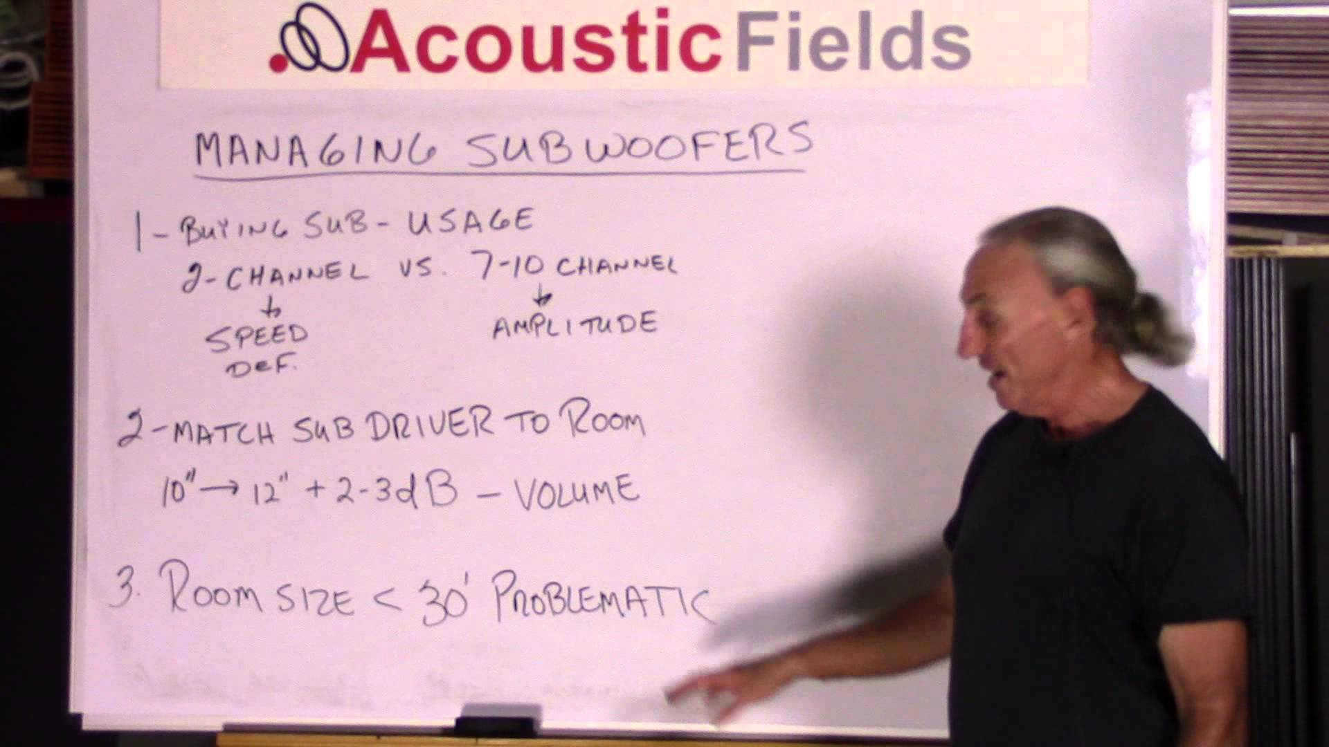 Subwoofer Acoustic Treatment – How To Manage Subwoofers The Correct Way