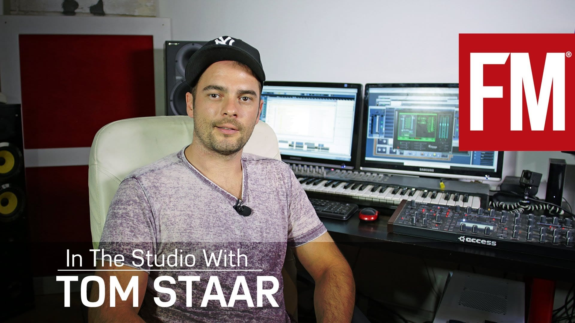 Tom Staar In The Studio With Future Music – YouTube