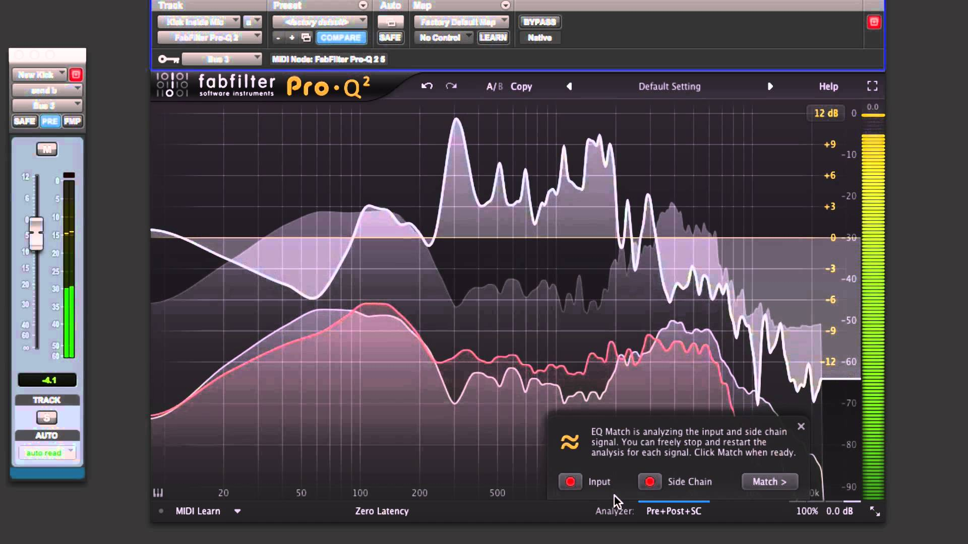 using the fabfilter pro q 2 to match eq youtube acoustic fields. Black Bedroom Furniture Sets. Home Design Ideas