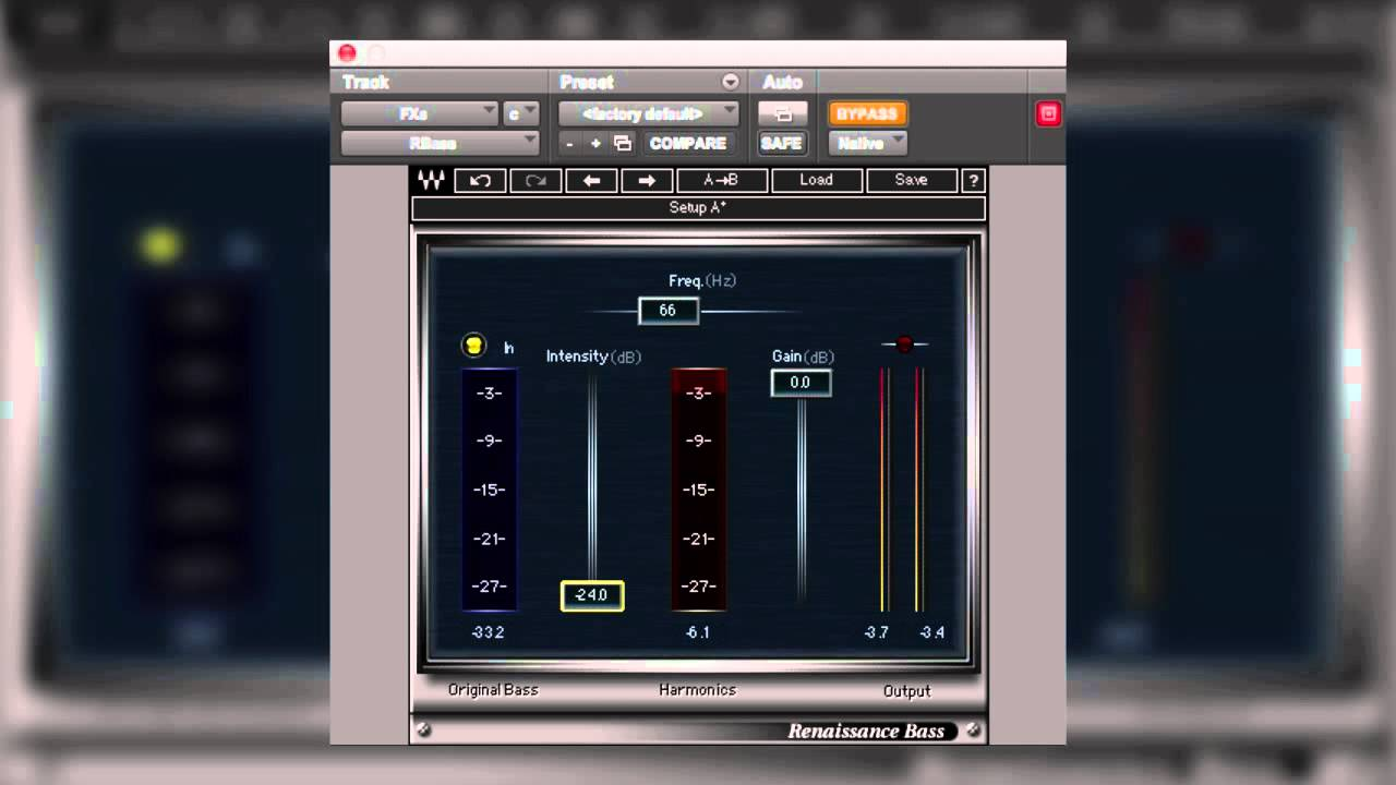 Using Waves Renaissance Bass In Audio Post Production – YouTube