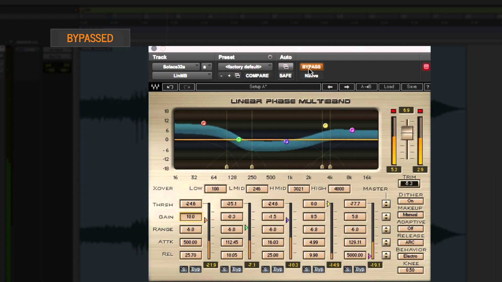 Waves Linear Phase Multiband Compressor: Plugin Tutorial with Audio Demos – YouTube