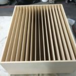 image of a finished Acoustic Sound Diffuser QRD 17 unit