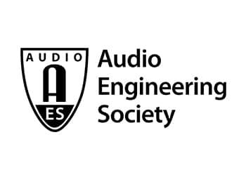 Audio Engineering Society Logo in black
