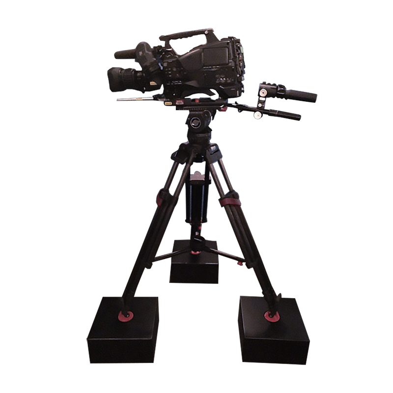 image of a camera on isolation stands